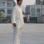 Tai Chi Lehrer Wang